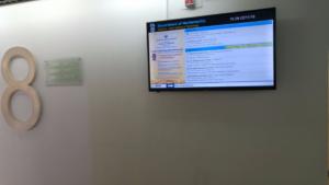 פרוייקט שילוט דיגיטלי בטכניון - מכון טכנולוגי לישראל 3