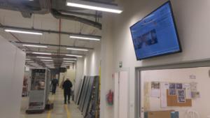 שילוט דיגיטלי למשרדים ומפעלים 2